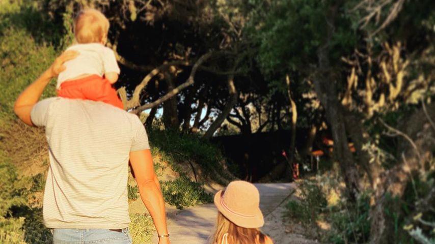Rasselbande: Wayne Carpendale chillt mit Gang seines Sohnes!