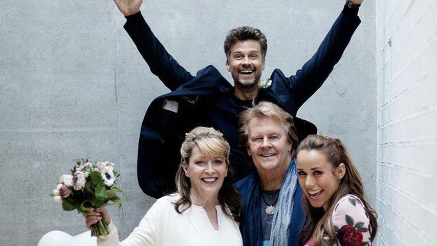 Wayne, Donnice, Howard und Annemarie Carpendale