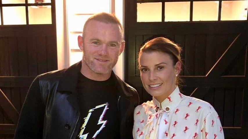 Wayne und Coleen Rooney