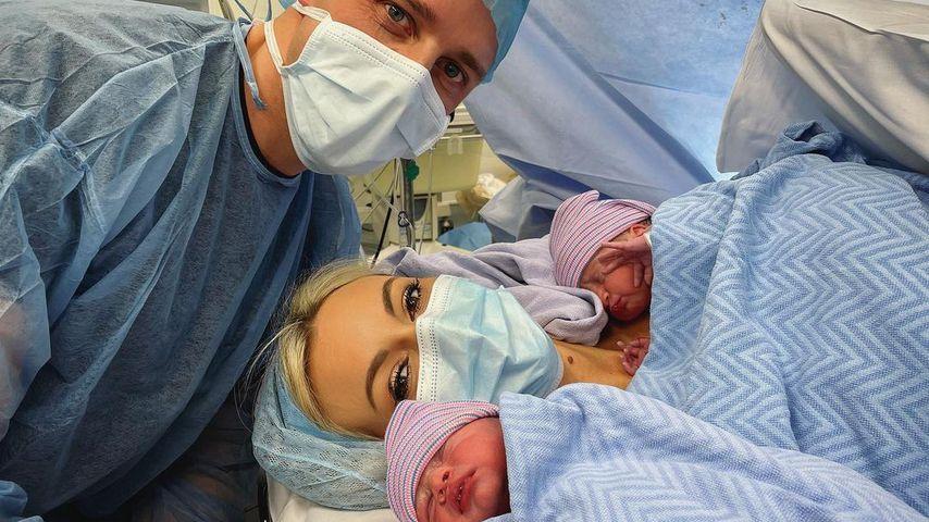 Wesley Quirke, Rosanna Davison und ihre Söhne