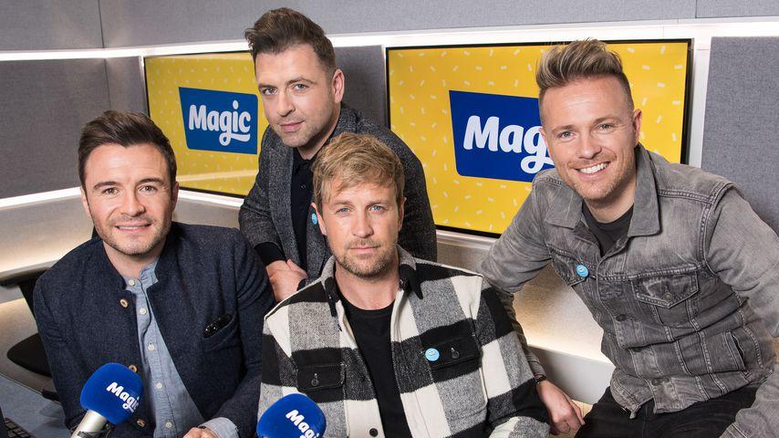 Westlife bei Magic Radio in London