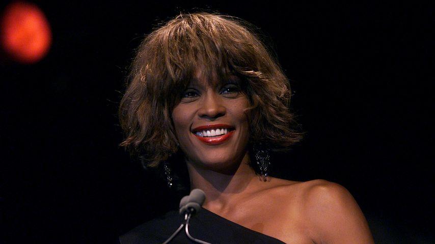 Whitney Houston im Juni 2001 in New York