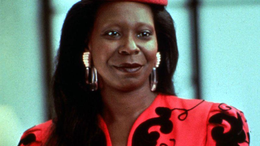 """Whoopi Goldberg als Oda Mae Brown in """"Ghost – Nachricht von Sam"""" im Jahr 1990"""