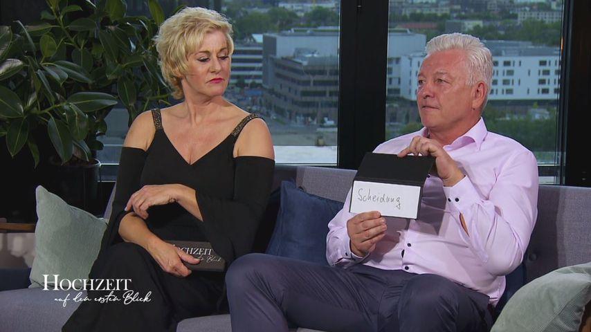 """Wiebke und Norbert im Finale von """"Hochzeit auf den ersten Blick"""""""