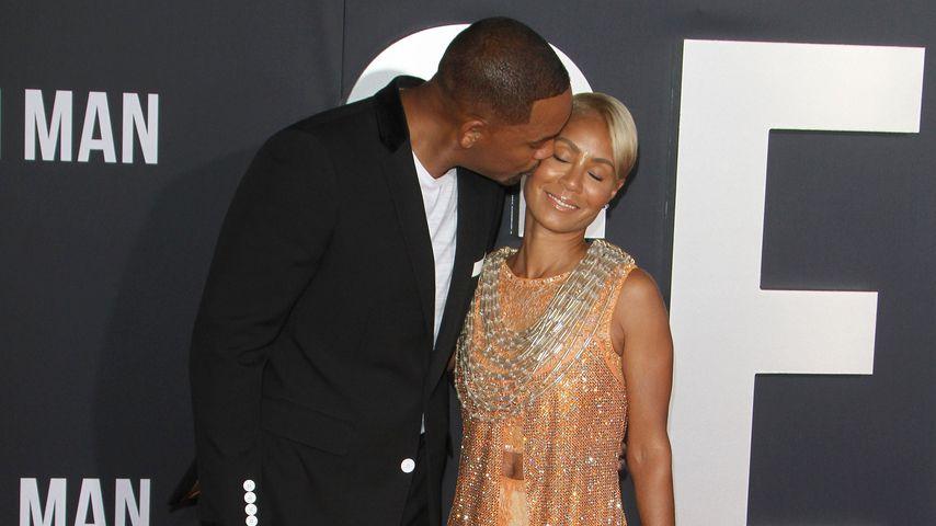 Red-Carpet-Kuss: Will Smith drückt seiner Jada Schmatzer auf