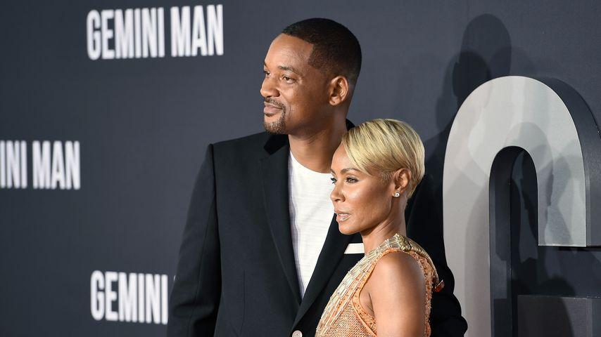 Will Smith und Jada Pinkett-Smith, 2019