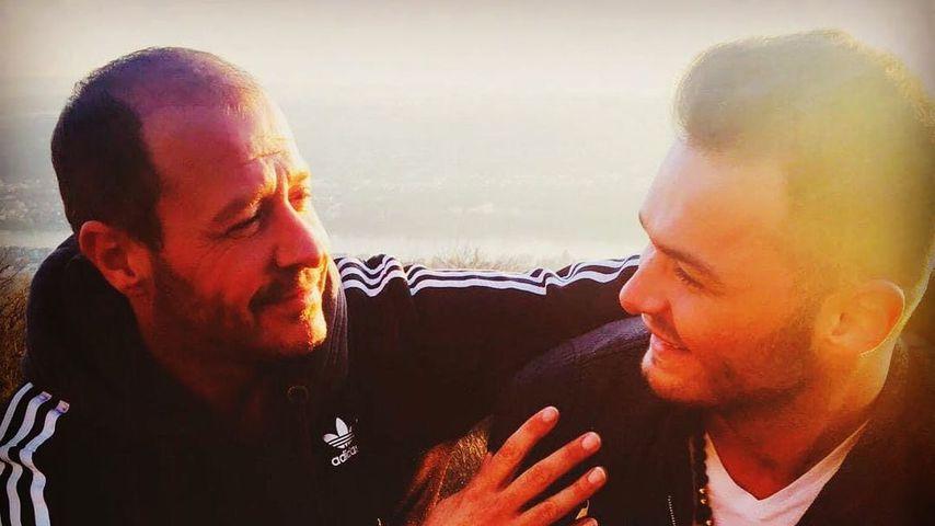 Willi Herren und sein Sohn Stefano
