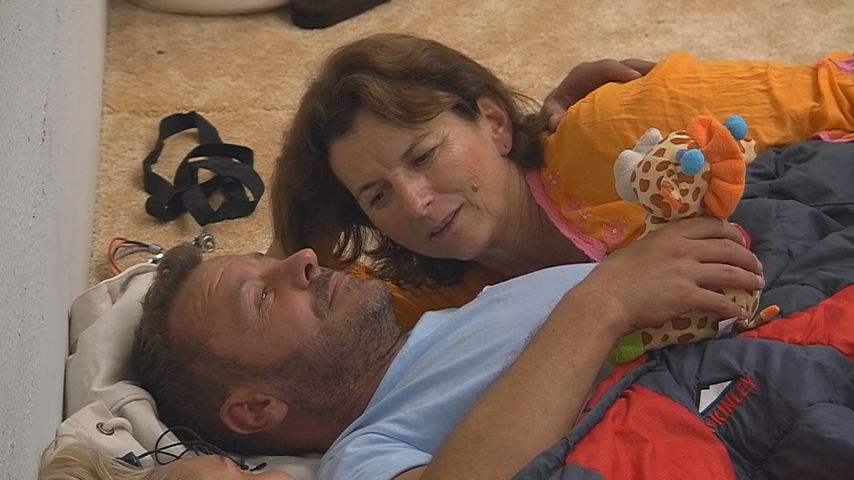 """Willi Herren und Claudia Obert bei """"Promi Big Brother"""""""