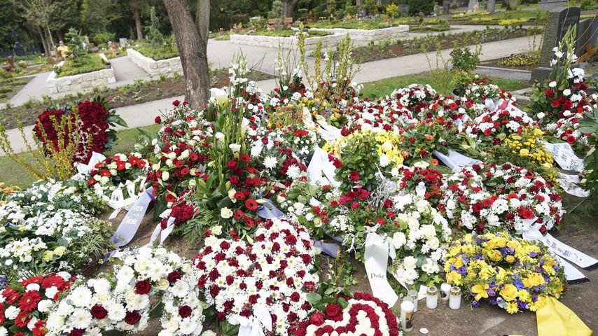 Willi Herrens Grab auf dem Melaten-Friedhof in Köln