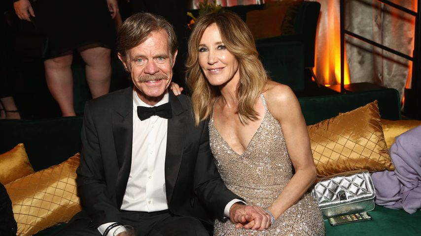 William H. Macy und Felicity Huffman 2019 in Los Angeles