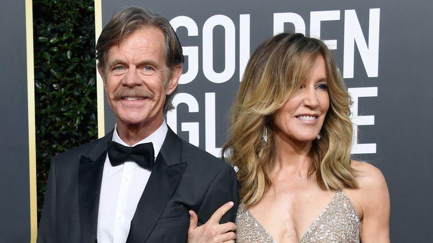 William H. Macy und Felicity Huffman im Januar 2019 in Kalifornien