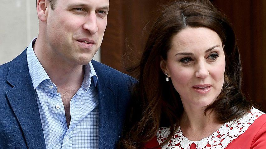 Schwere Geburt? Herzogin Kates Baby-Auftritt so kurz wie nie