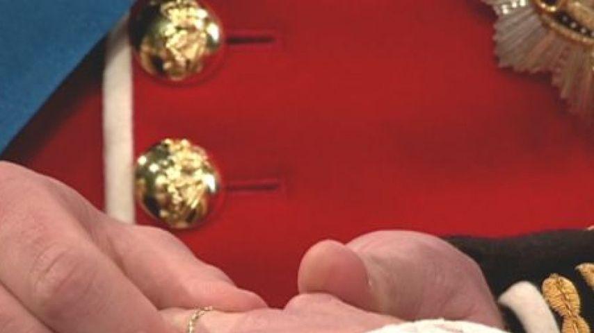 Kleine Ring-Panne bei Hochzeit von William & Kate