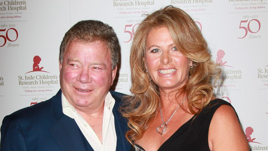 William und Elizabeth Shatner in Beverly Hills 2012