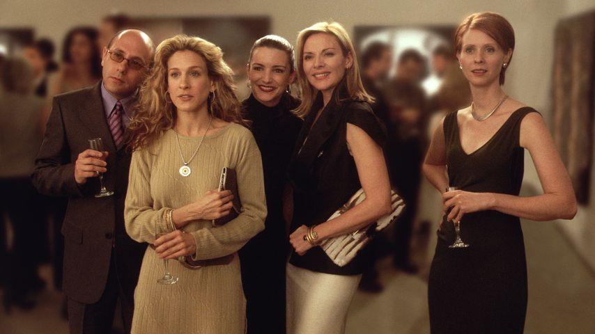 Willie Garson, Sarah Jessica Parker, Kristin Davis, Kim Cattrall und Cynthia Nixon