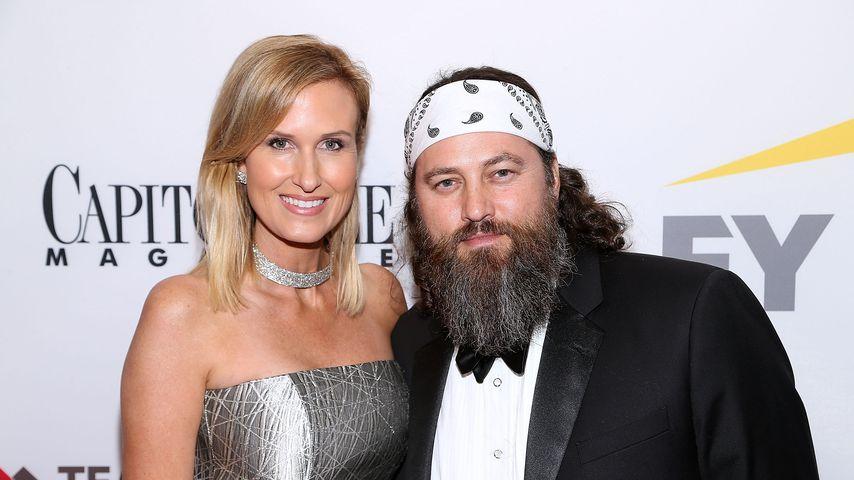 Willie Robertson mit seiner Frau Korie