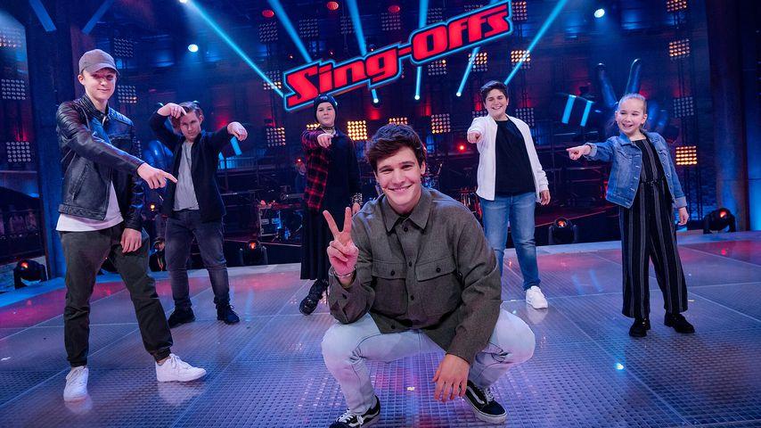 """Wincent Weiss und seine """"The Voice Kids""""-Finalisten"""