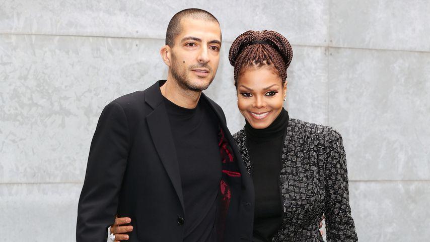 Wissam Al Mana und Janet Jackson im Februar 2013
