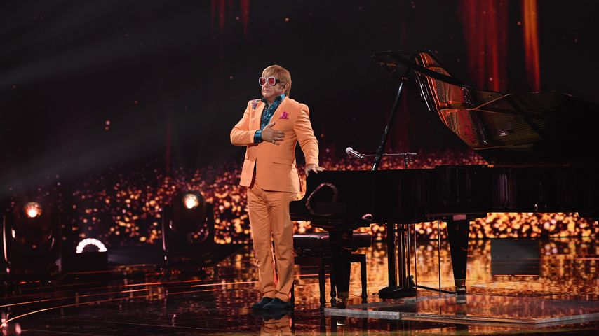 """Wolfram Kons als Elton John bei """"Big Performance"""""""