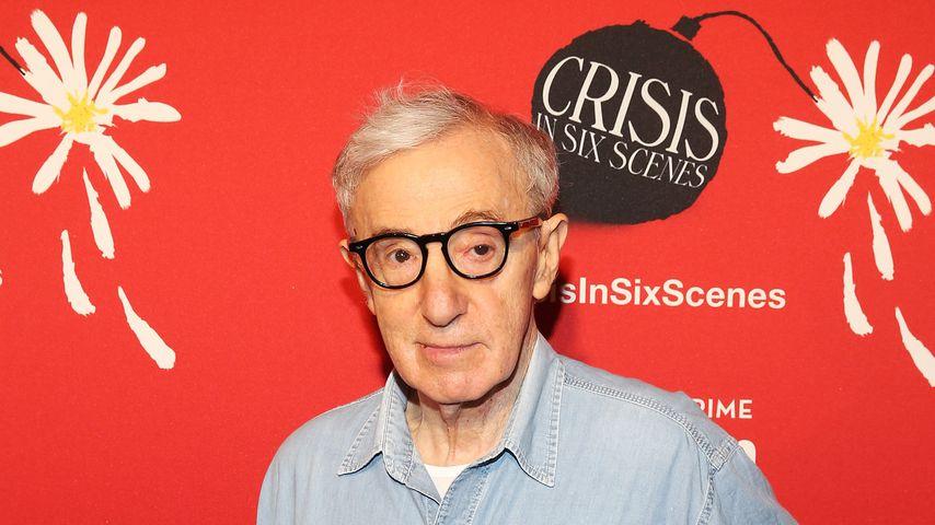 """Woody Allen bei der Premiere von """"Crisis in Six Scenes"""""""