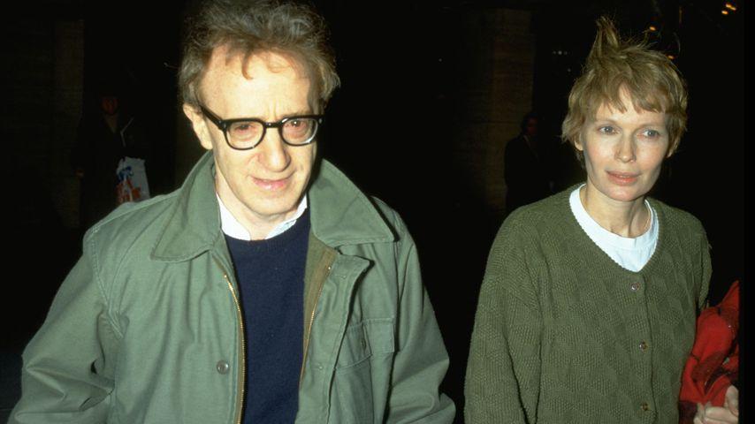 Woody Allen, Regisseur, und Mia Farrow, Schauspielerin