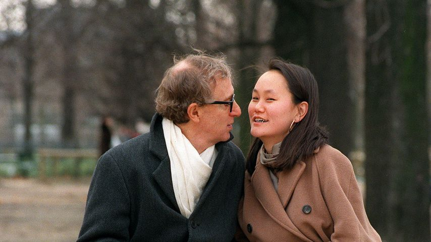 Woody Allen und seine Frau Soon-Yi Previn