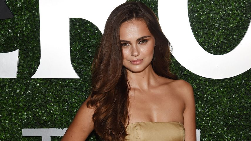 Xenia Deli auf der New York Fashion Week 2015