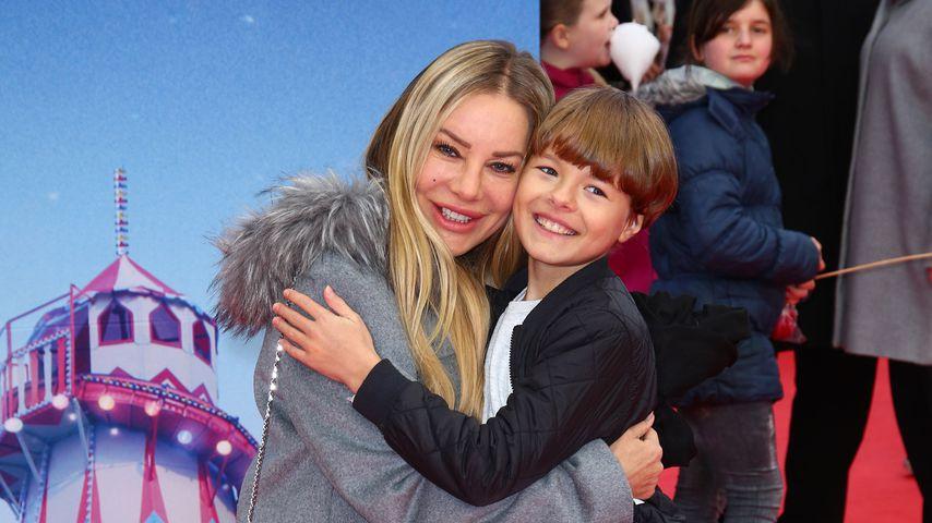 """Xenia Seeberg und ihr Sohn Philias bei der Premiere von """"Paddington 2"""""""