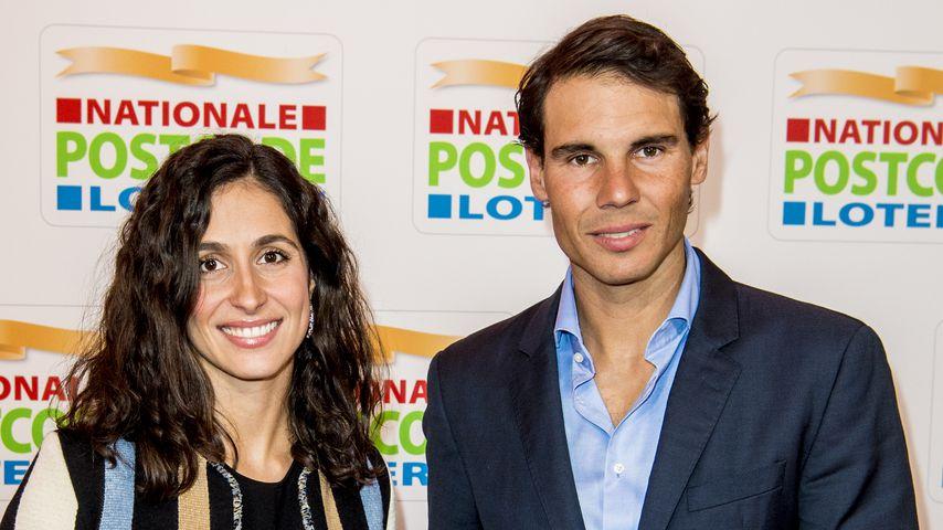 María Francisca Perelló und Rafael Nadal 2018