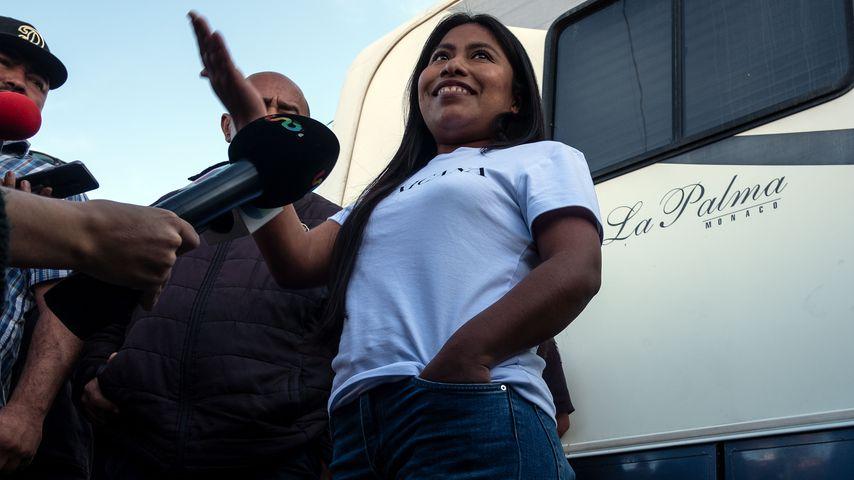 Yalitza Aparicio nach der Bekanntgabe der Oscar-Nominierung