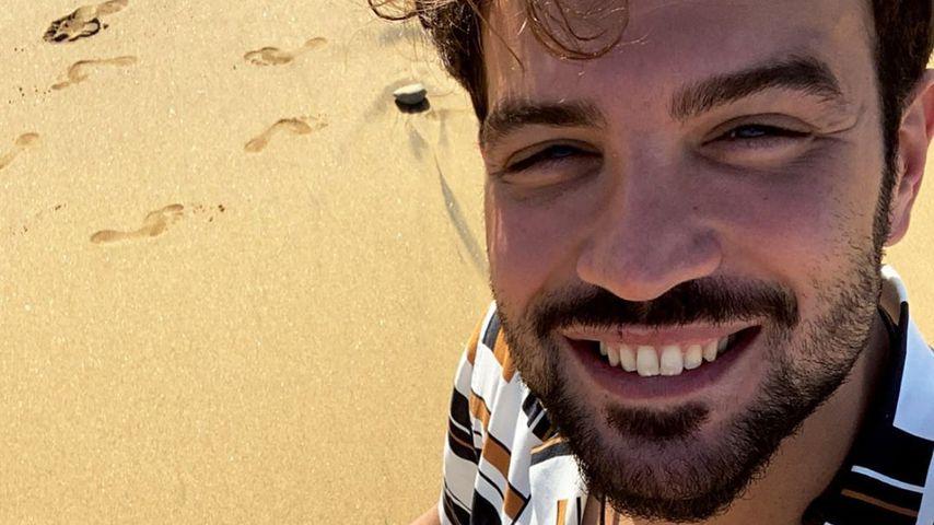 Pipi-Panne: Neu-Papa Yasin wurde von seinem Sohn angepinkelt