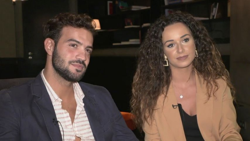 Yasin und Samira im Promiflash-Interview, Oktober 2019
