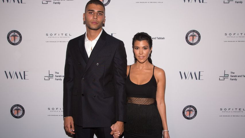 Younes Bendjima und Kourtney Kardashian im Mai 2018