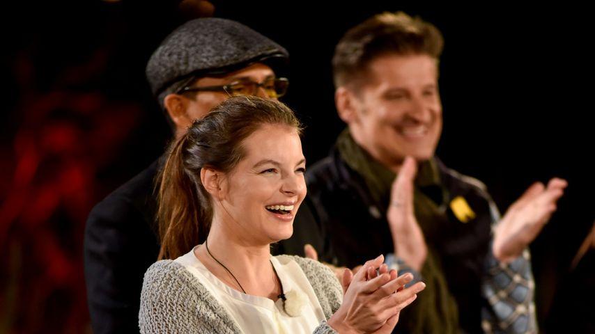 Yvonne Catterfeld überzeugt als Tauschkonzert-Gastgeberin