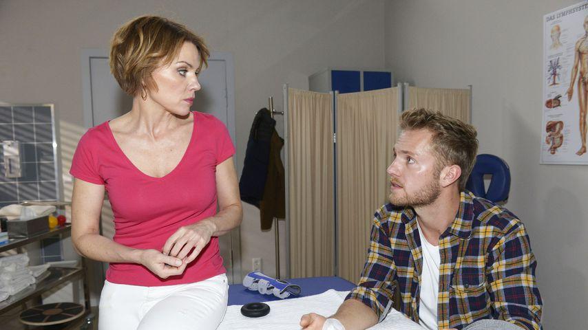 Yvonne (Gisa Zach) und Paul (Niklas Osterloh) bei GZSZ