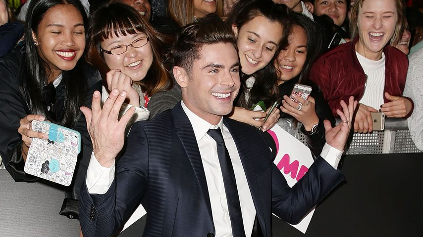 "Zac Efron bei der ""Mike and Dave Need Wedding Dates""-Premiere in Sydney 2016"