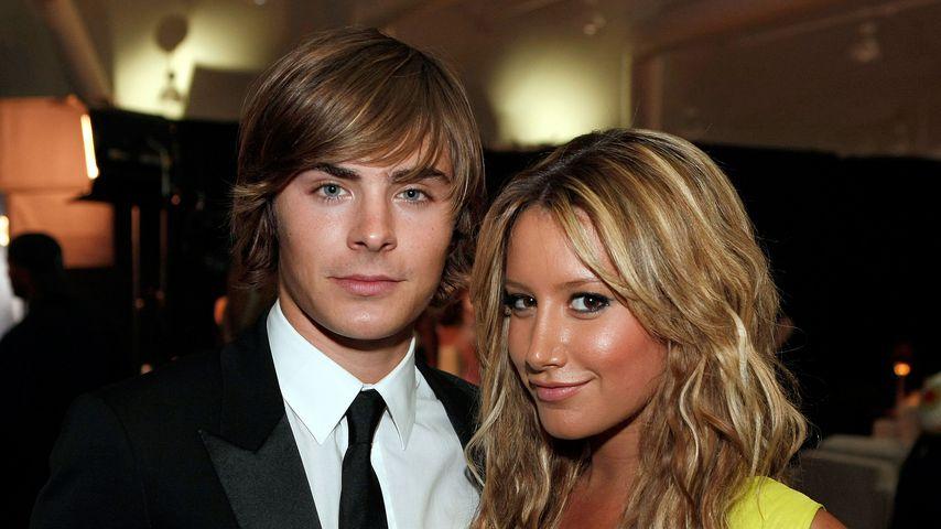 Zac Efron und Ashley Tisdale bei den Alma Awards im August 2008