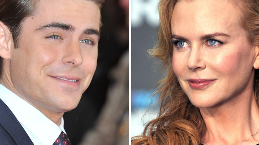 Zac Efron: Sexszene mit Kidman absolutes Highlight