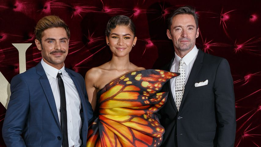 "Zac Efron, Zendaya und Hugh Jackman auf der ""The Greatest Showman""-Premiere in Sydney"