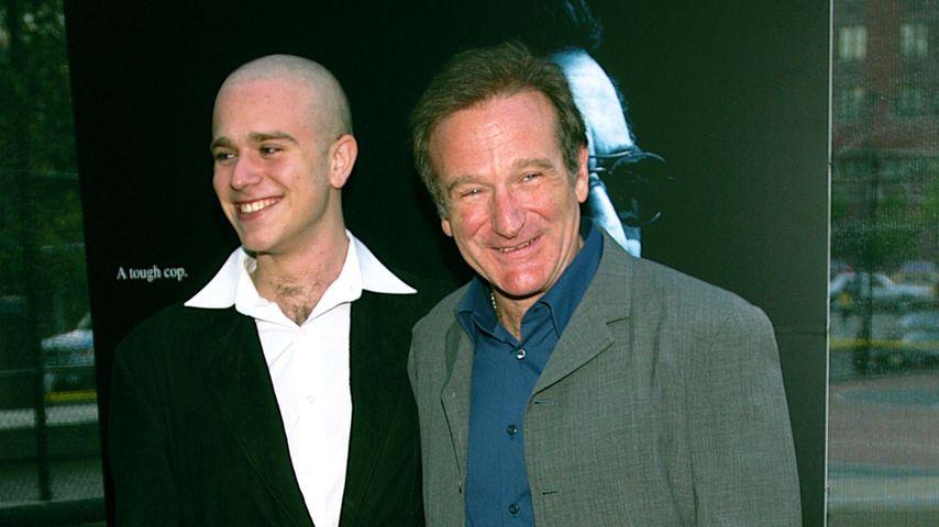 Zachary und Robin Williams, Schauspieler