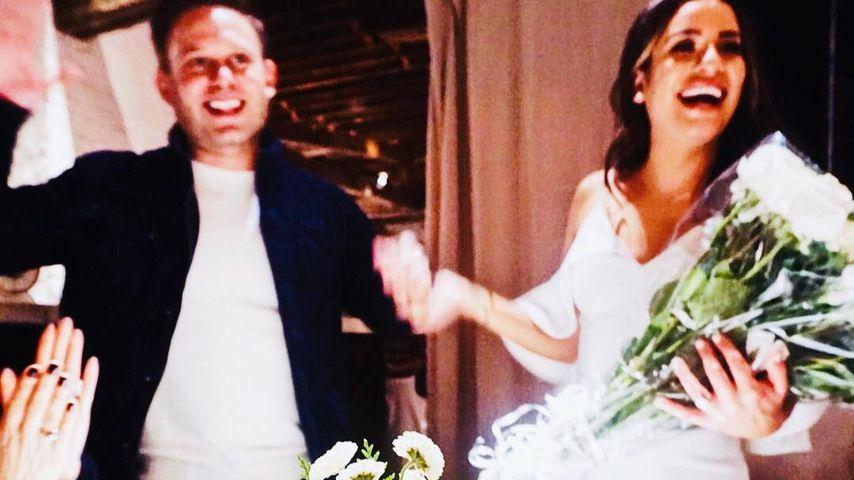 Zandy Reich und Lea Michele bei ihrer Brautparty
