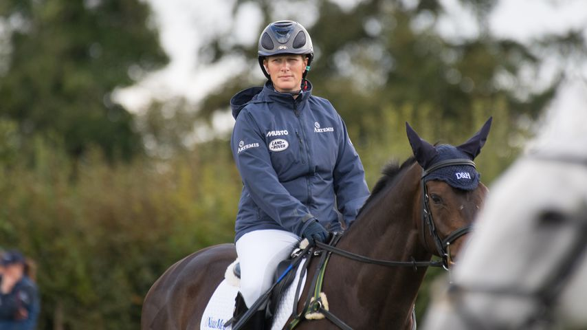 Zara Phillips bei den Whatley Manor Horse Trials in London 2018