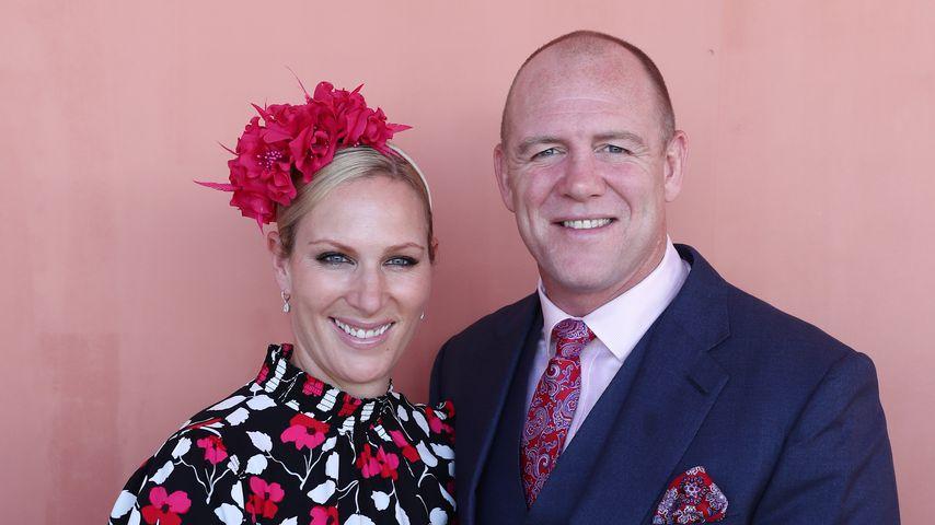 Zara und Mike Tindall im Januar 2019 in Australien