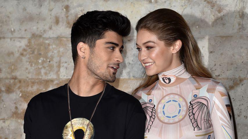 Zayn Malik und Gigi Hadid 2016 auf der Paris Fashion Week