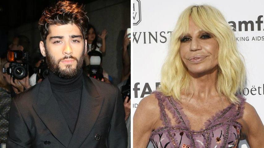 Er entwirft für Versace: Zayn Malik wird Fashion-Designer!