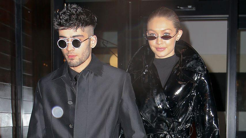 Zayn Malik und Gigi Hadid in New York im Januar 2018