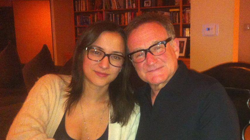 Zelda und Robin Williams