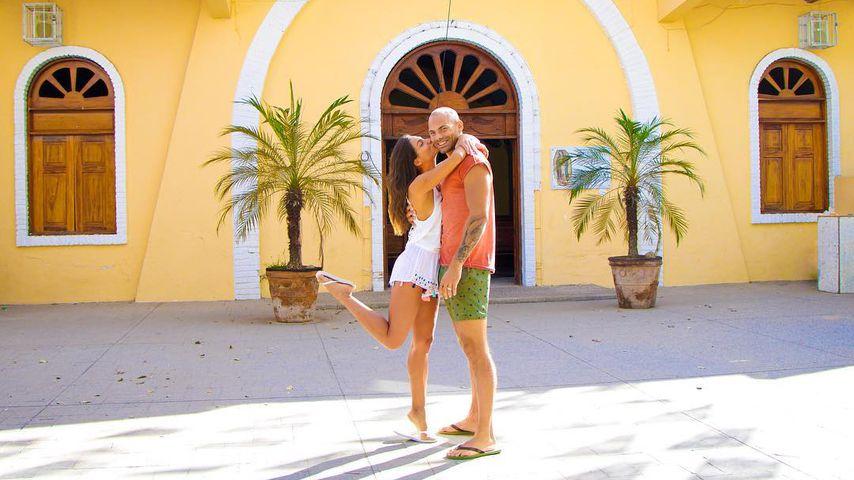 Ziania Rubi und Fabian Nickel in Mexiko