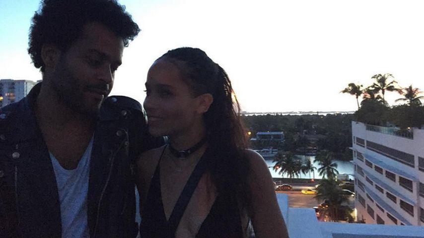 Frisch verliebt: Zoe Kravitz datet Doppelgänger ihres Vaters