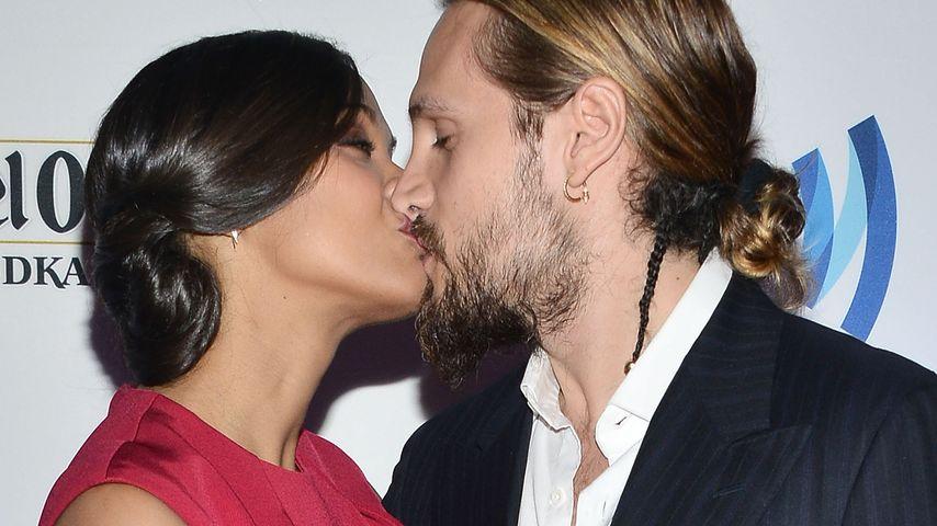 Zoe Saldana und Marco Perego